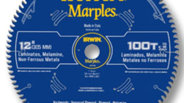 Irwin has introduced new saw blades and chisels under the Marples brand.