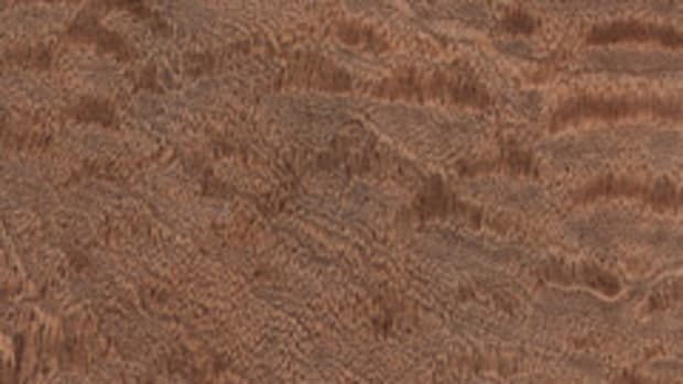 Sapele sample