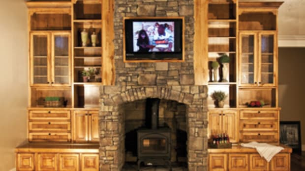 Out of the Woods Custom Cabinetry serves only the residential market.