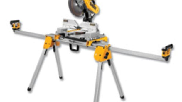 DeWalt's heavy-duty miter saw stand, model DWX723.