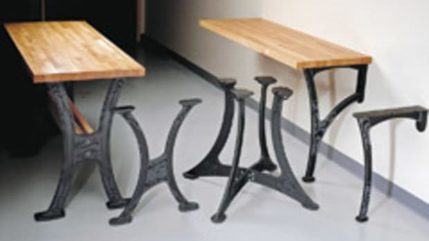 Matthew Burak Table Leg Designs Woodshop News