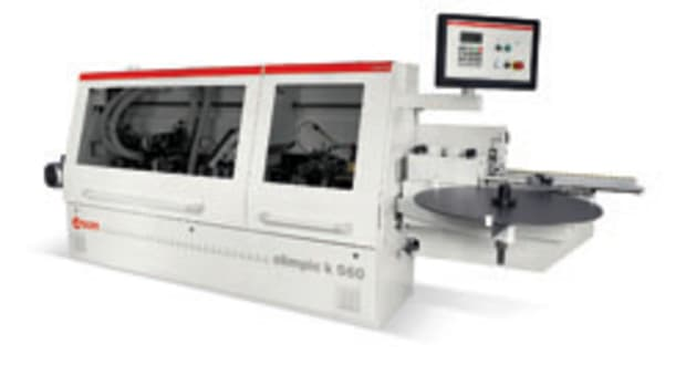 SCM's new Olimpic k560 is designed for customers that are looking for a reasonably prices machine that can run many different types of material at a fast pace.