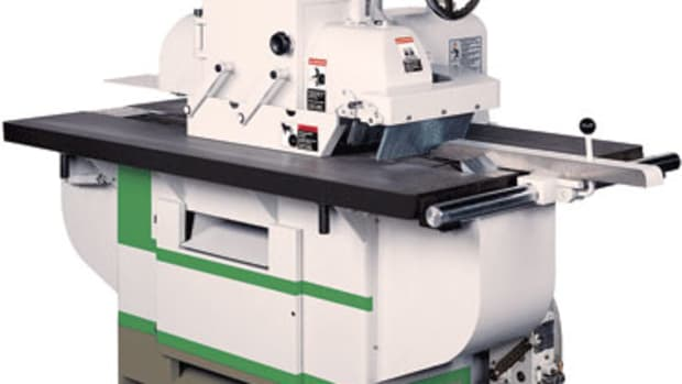Ironwood SLR 330 straight-line rip saw.