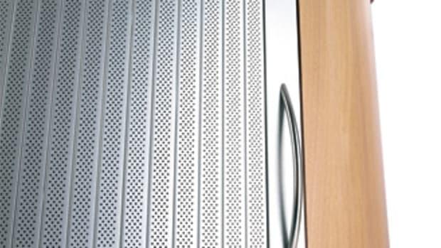 Rehau's tambour door system includes the Acoustic Line.