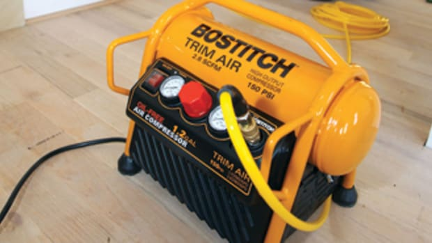 The NexGen Trim Air compressor from Bostitch.