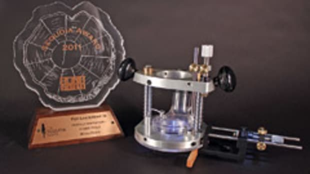 Micro Fence won a Sequoia award for its plunge base and edge guide package.