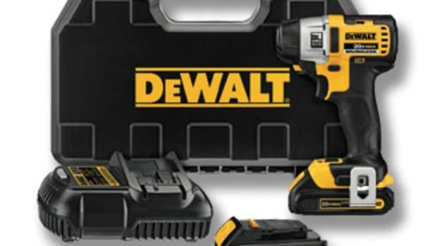 DeWalt's compact driver, model DCF895C2.
