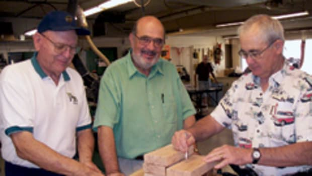 Members of the Sunshine Club spend their Thursdays making projects for local charities.