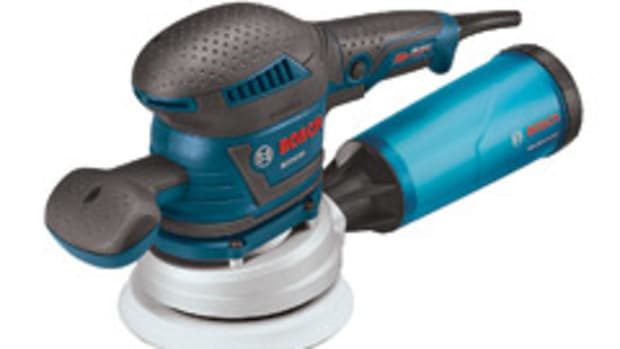 Bosch's new random orbit sander, model ROS65VC.