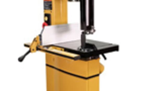 Powermatic's new 15-inch band saw, model PM 1500.