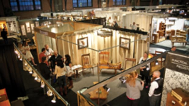 The Philadelphia Invitational Furniture Show featured more than 60 exhibitors of handcrafted furniture and home accessories.