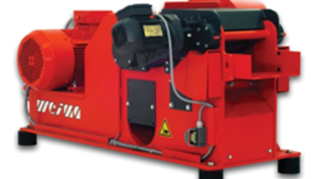 Weima America's Tiger 400 horizontal shredder.