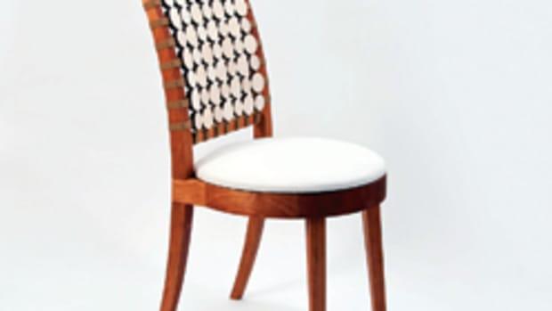 """The winning """"Centerbrook Chair"""" by Melissa Kops."""