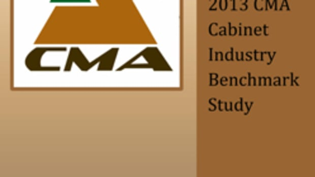 The annual CMA Benchmarke Study reveals how participating cabinet shops throughout the country are finding business success.