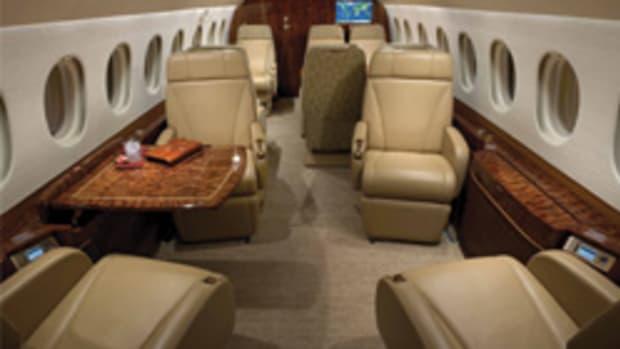 Custom Aircraft Cabinets serves a demanding clientele.