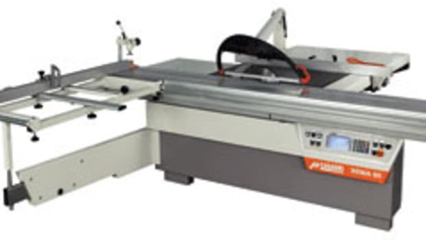 The Xenia 60 sliding panel saw.