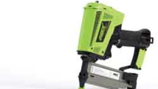 The new Grex 18-gauge cordless nailer.