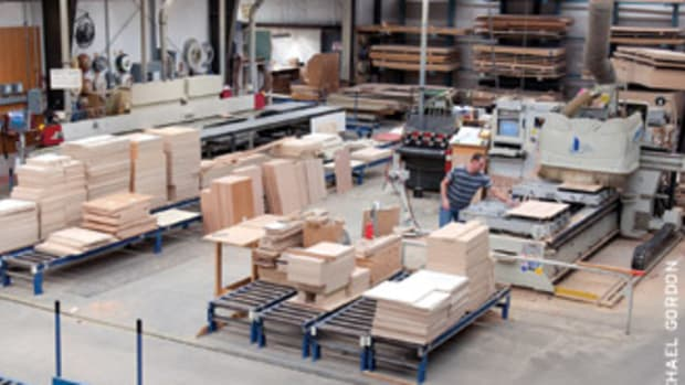 The first step for instituting lean principles is to take some time and review how each process is managed on the shop floor.