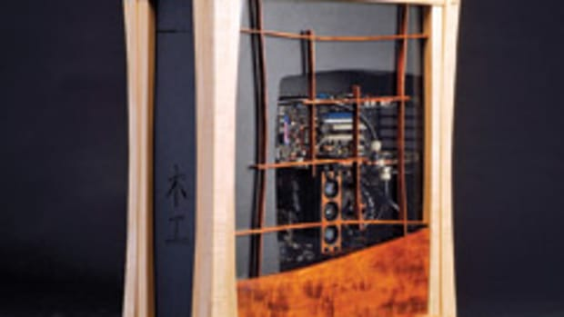 Nick Falzone's computer cases are based on Japanese shoji designs.
