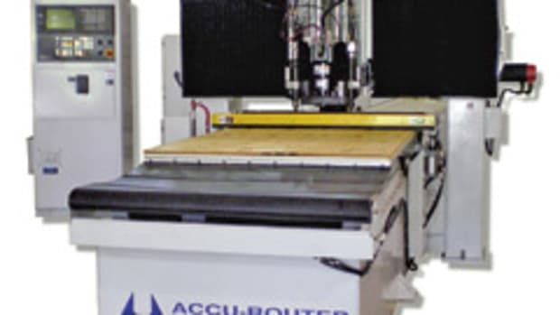 The Series II CNC router from Accu-Router.