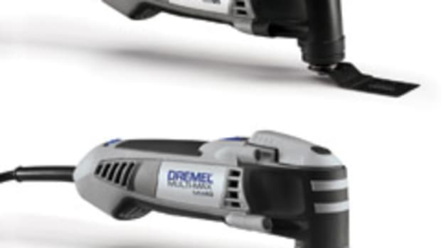 Dremel models MM20 and MM40 oscillating tools.