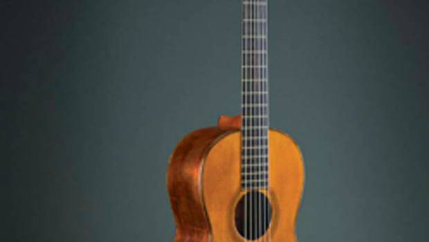 Th early American guitar exhibit at the Metropolitan Museum of Art in New York runs through Dec. 7.