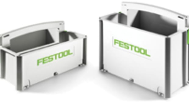 Festool's Sys-Toolbox is available in two sizes.