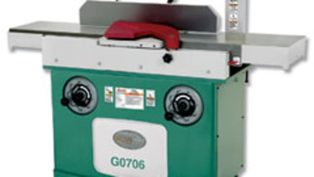 "Grizzly's latest 12"" jointer, model G0607, features a 60"" bed."