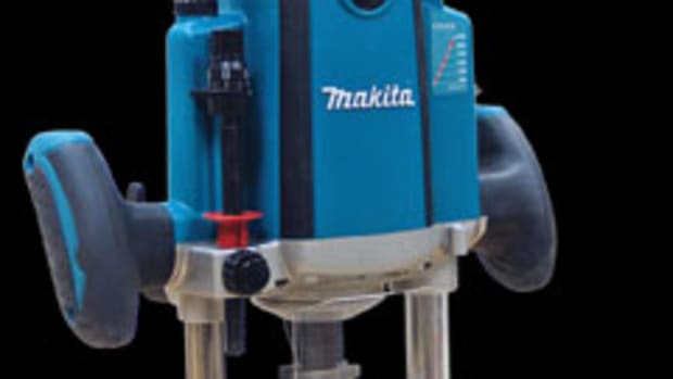 Makita's 3-1/4-hp plunge router, model RP2301FC.