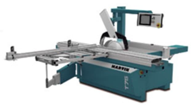 The Martin T75 PreX, a dual-tilt sliding table saw.