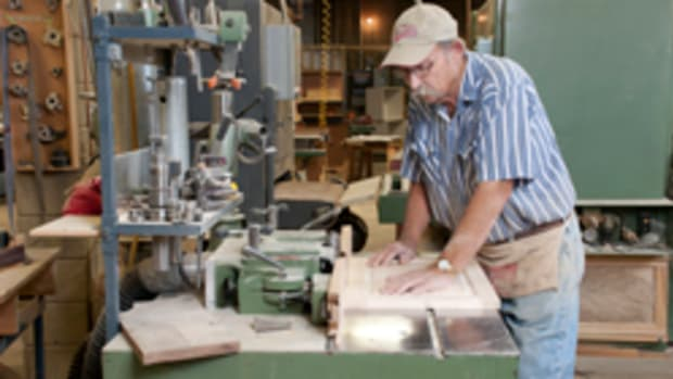 William Cole entered the cabinetmaking business in 1962.