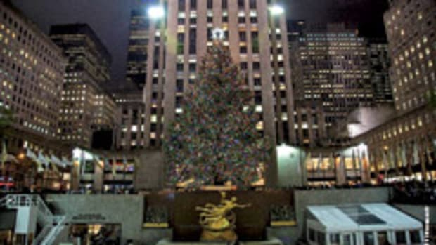 The Rockefeller Center Christmas tree will help build a Habitat for Humanity home in Newburgh, N.Y.