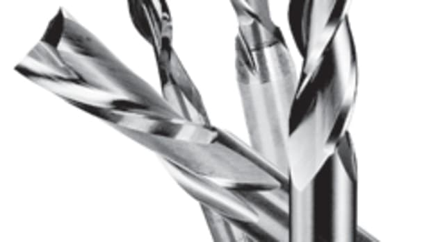 The open-flute feature on Freud's new Premier Solid Carbide bits allows for fast chip ejection and longer life, according to the company.