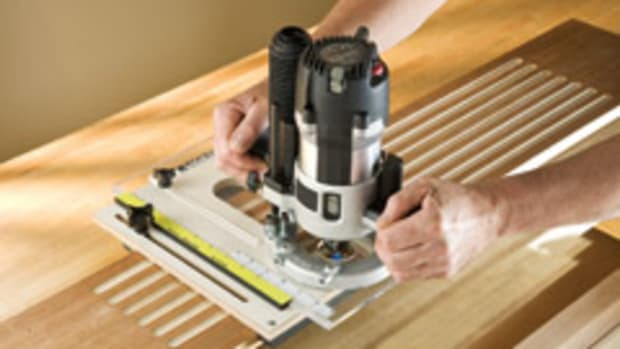 Rockler's new Fluting Jig