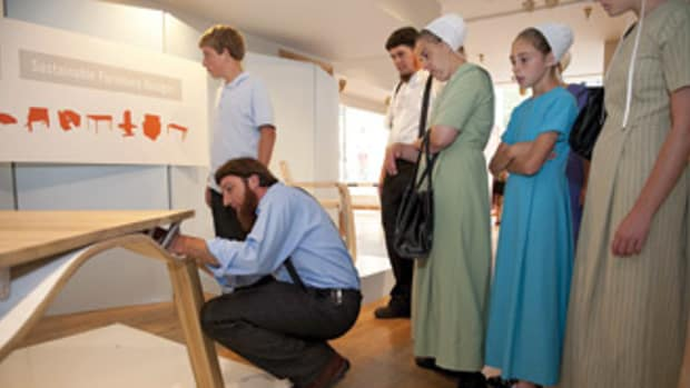 The Cleveland Furniture and Millwork Fair offered the Amish an opportunity to learn about modern design, which could ultimately help their presence in the local economy.