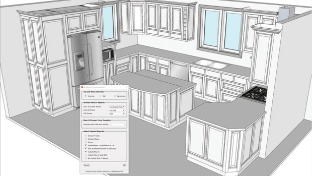 CabWriter Updates Cabinet Design Extensions For SketchUp