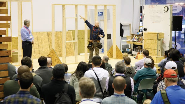 International Builders Show exhibit