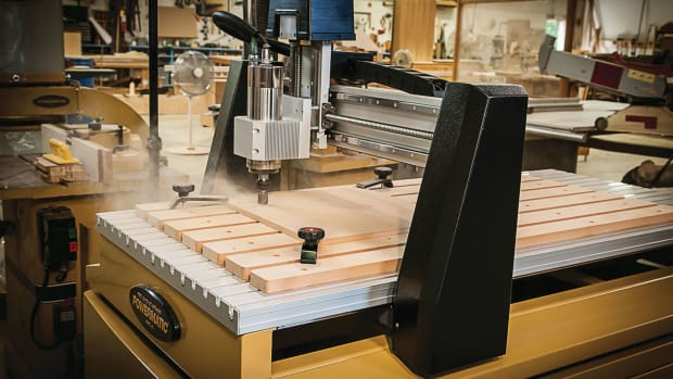 Photo of CNC Machine in use