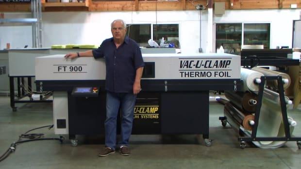 FT 900 ThermoFoil Vacuum Press