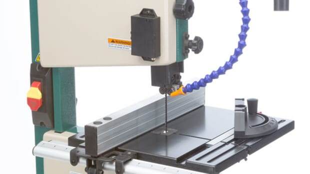 New band saw from Grizzly - Woodshop News