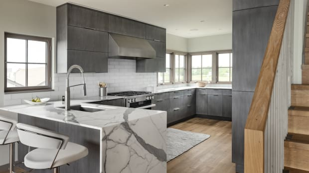 Waterfall kitchen-small