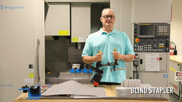Blind Stapler Introduction - Cabinetry Made Easy