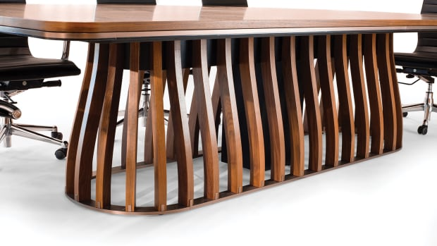 B)-Doko-conference-table-base