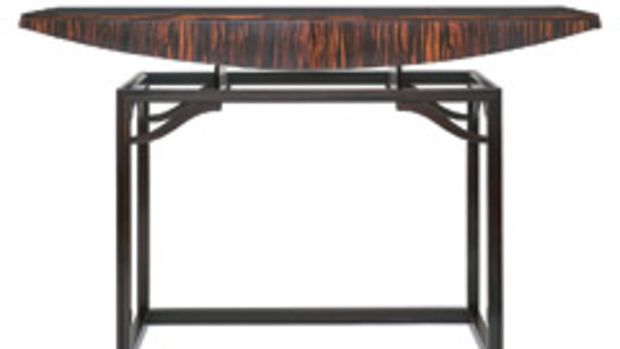 Works by Thomas Hucker include foyer table.