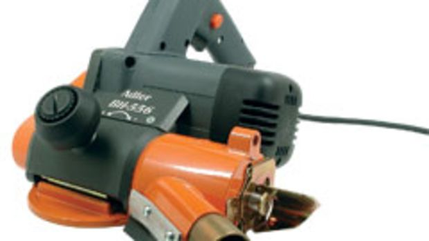 The Adler BH-556 Edge Lipping Planer, available from Hoffman Machine Co.