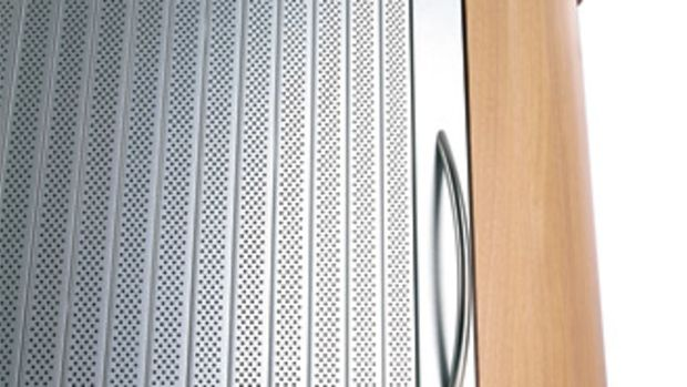 Rehau's tambour door system includes the Acoustic Line.