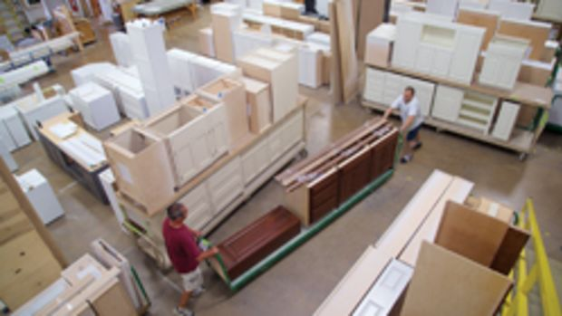 The first step in creating a more efficient workshop environment is planning the flow of work.