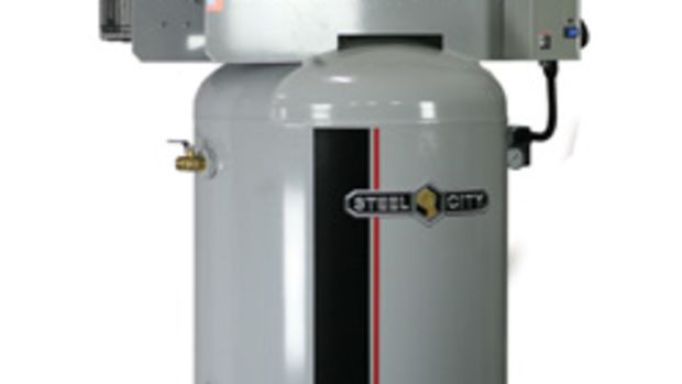 Steel City showed several compressors at IWF.