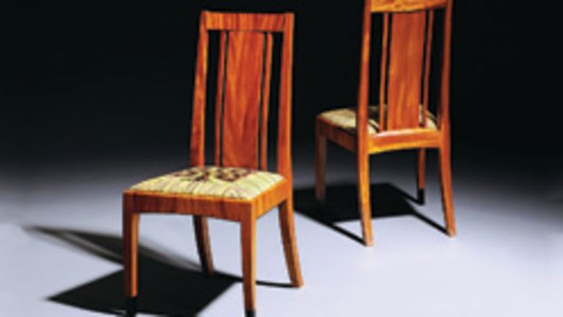 """The """"Just Chairs"""" exhibit includes work by Tom McLaughlin."""