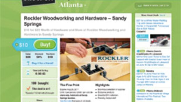 Groupon has proved to be an effective marketing tool for the Rockler Woodworking and Hardware store in Sandy Springs, Ga. By May, the store's customers had redeemed almost half of the coupons placed online since February.